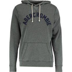 Bluzy męskie: Abercrombie & Fitch ARCH LOGO  Bluza z kapturem green