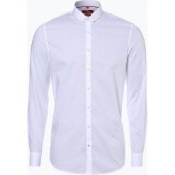 Finshley & Harding London - Koszula męska, czarny. Czarne koszule męskie marki Finshley & Harding London, m, z bawełny, z klasycznym kołnierzykiem. Za 99,95 zł.