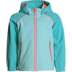 Icepeak RHODY  Kurtka Softshell turquoise. Niebieskie kurtki damskie softshell Icepeak, z elastanu, sportowe. Za 169,00 zł.