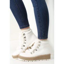 Białe Traperki You Send Me. Białe buty zimowe damskie vices. Za 99,99 zł.