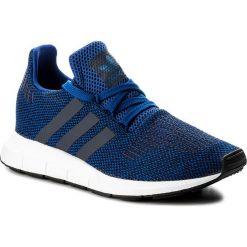 Buty adidas - Swift Run CG4118  Croyal/Nobink/Ftwwht. Niebieskie buty sportowe męskie Adidas, z materiału. W wyprzedaży za 259,00 zł.