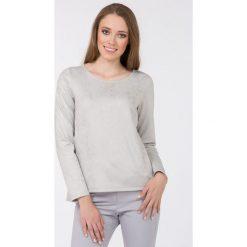 Bluzy rozpinane damskie: Bluza z połyskującym wzorem