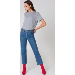NA-KD Basic T-shirt oversize - Grey. Różowe t-shirty damskie marki NA-KD Basic, z bawełny. Za 52,95 zł.