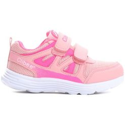 Różowe Buty Sportowe Be There. Czerwone buty sportowe dziewczęce marki Born2be, ze skóry, z okrągłym noskiem. Za 69,99 zł.