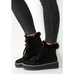 Czarne Śniegowce New Age. Czarne buty zimowe damskie vices. Za 79,99 zł.