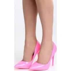 Fuksjowe Szpilki Lovesick. Różowe szpilki marki Born2be, z lakierowanej skóry. Za 79,99 zł.