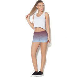 Colour Pleasure Spodnie damskie CP-020 290 fioletowo-niebieskie r. 3XL/4XL. Fioletowe spodnie sportowe damskie marki Colour pleasure, xl. Za 72,34 zł.