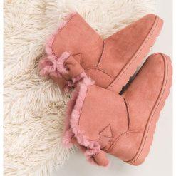 RÓŻOWE ŚNIEGOWCE DAMSKIE. Czerwone buty zimowe damskie Merg. Za 76,90 zł.