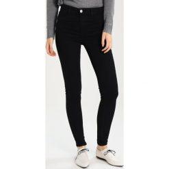 Dorothy Perkins FRANKIE Jeans Skinny Fit black. Czarne rurki damskie Dorothy Perkins. Za 129,00 zł.