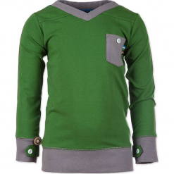 """Bluza """"I Forgot Where We Were"""" w kolorze zielono-szarym. Zielone bluzy niemowlęce 4FunkyFlavours Kids. W wyprzedaży za 82,95 zł."""