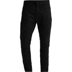 GStar DSTAQ 3D SKINNY Jeans Skinny Fit black edington. Czarne rurki męskie G-Star, z bawełny. Za 609,00 zł.