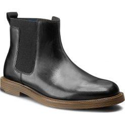 Sztyblety męskie: Sztyblety CLARKS – Feren Top 26120547 Black Leather