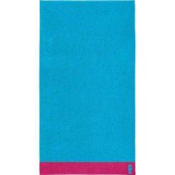 """Kąpielówki męskie: Ręcznik plażowy """"Cruise"""" w kolorze błękitnym"""