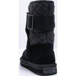 Buty zimowe damskie: Sorel NEWBIE Śniegowce black