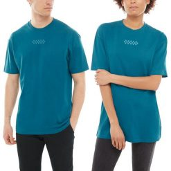 Koszulka Vans Overtime Out (VA3PDYYDW). Szare bluzki damskie Vans, z bawełny. Za 99,99 zł.