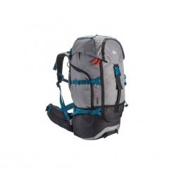 Plecak trekkingowy Forclaz 50 l. Szare plecaki męskie QUECHUA, z materiału. Za 129,99 zł.