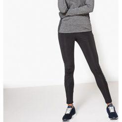 Sportowe legginsy. Szare legginsy we wzory marki La Redoute Collections, m, z bawełny, z kapturem. Za 95,72 zł.