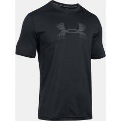 Under Armour Koszulka męska Raid Graphic czarna r. XL (1298816-001). Szare koszulki sportowe męskie marki Under Armour, z elastanu, sportowe. Za 159,00 zł.