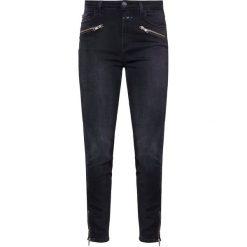CLOSED AIMIE Jeans Skinny Fit soft black. Czarne jeansy damskie relaxed fit CLOSED, z bawełny. Za 839,00 zł.