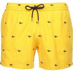 Kąpielówki męskie: Paul Smith MEN PLAIN EMBRO Szorty kąpielowe yellow