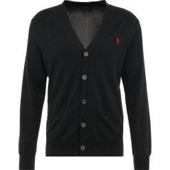 Polo Ralph Lauren Kardigan black. Czarne kardigany męskie Polo Ralph Lauren, m, z bawełny, polo. Za 719,00 zł.