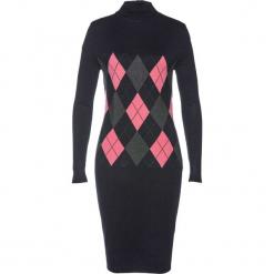 Sukienka dzianinowa bonprix czarny. Czarne sukienki balowe marki TXM, z klasycznym kołnierzykiem. Za 79,99 zł.