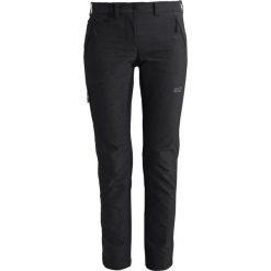Jack Wolfskin ACTIVATE SKY Spodnie materiałowe black. Czarne bryczesy damskie Jack Wolfskin, z elastanu. Za 459,00 zł.