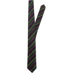 Krawaty męskie: Polo Ralph Lauren STRIPES MADISON Krawat green/navy