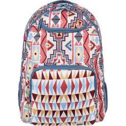 """Plecak """"Shaddow Swell"""" z kolorowym wzorem - 33 x 45,5 x 14 cm. Szare plecaki męskie Roxy, w kolorowe wzory, z tkaniny. W wyprzedaży za 108,95 zł."""
