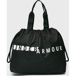 Under Armour - Torebka. Czarne torebki klasyczne damskie Under Armour, z materiału, duże. Za 139,90 zł.