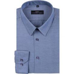 Koszula SIMONE KDGR000198. Niebieskie koszule męskie na spinki marki Giacomo Conti, m, z tkaniny, klasyczne. Za 149,00 zł.