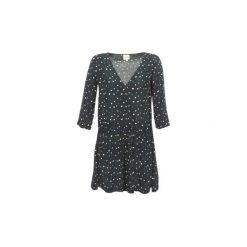 Sukienki krótkie Petite Mendigote  CELESTINE. Czarne sukienki hiszpanki Petite Mendigote, m, petite, z krótkim rękawem, mini. Za 489,30 zł.