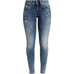 GStar LYNN MID SKINNY NEW Jeans Skinny Fit elto superstretch. Niebieskie jeansy damskie marki G-Star, z bawełny. Za 609,00 zł.