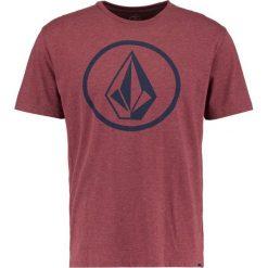 T-shirty męskie z nadrukiem: Volcom CIRCLE STONE Tshirt z nadrukiem crimson