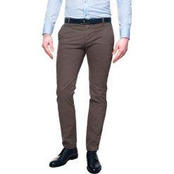 Spodnie loders 215 brąz slim fit. Czarne rurki męskie Recman. Za 139,99 zł.