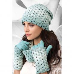 Damska czapka Ombre. Szare czapki zimowe damskie Astratex, na zimę, z polaru. Za 74,99 zł.