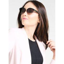 Okulary przeciwsłoneczne damskie aviatory: Burberry Okulary przeciwsłoneczne matte black/pale gold coloured