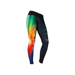 LEGGINSY FREEDOME. Czarne legginsy we wzory Feelj!, m, z dzianiny. Za 149,00 zł.
