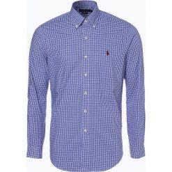 Polo Ralph Lauren - Koszula męska – Regular Fit, niebieski. Niebieskie koszule męskie na spinki Polo Ralph Lauren, m, z haftami, z bawełny, polo. Za 499,95 zł.