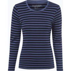 Brookshire - Damska koszulka z długim rękawem, niebieski. Niebieskie t-shirty damskie brookshire, m, w paski, z dżerseju. Za 89,95 zł.