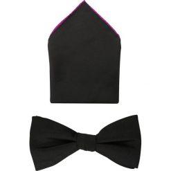 Krawaty męskie: VON FLOERKE SET Mucha black