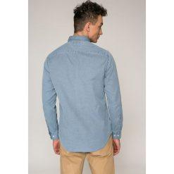 Tommy Hilfiger - Koszula. Szare koszule męskie na spinki marki S.Oliver, l, z bawełny, z włoskim kołnierzykiem, z długim rękawem. W wyprzedaży za 279,90 zł.