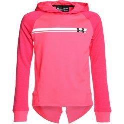 Bluzy chłopięce rozpinane: Under Armour FRENCH TERRY HOODY  Bluza z kapturem penta pink