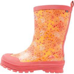 Viking MIMOSA Kalosze coral/multicolor. Pomarańczowe buty zimowe damskie Viking, z kauczuku. Za 149,00 zł.
