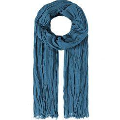 Szaliki męskie: Szal w kolorze niebieskim – 35 x 195 cm