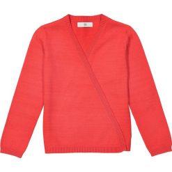 Swetry dziewczęce: Sweter bawełniany, rozpinany, gładki 2-12 lat