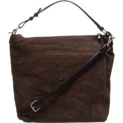 Skórzana torebka w kolorze brązowym - 39 x 37 x 14 cm. Torebki klasyczne damskie Marc O'Polo Accessoires, w paski, z materiału. W wyprzedaży za 454,95 zł.
