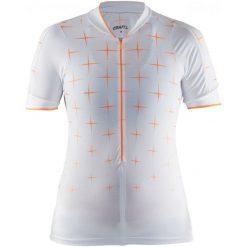 Bluzki sportowe damskie: Craft Koszulka Rowerowa Belle Glow White S