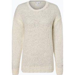 Tommy Hilfiger - Sweter damski z dodatkiem moheru, beżowy. Brązowe swetry klasyczne damskie TOMMY HILFIGER, xl, z dzianiny. Za 599,95 zł.