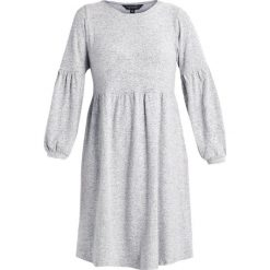 Sukienki dzianinowe: Dorothy Perkins Curve BALLOON SOFT TOUCH DRESS Sukienka dzianinowa light grey